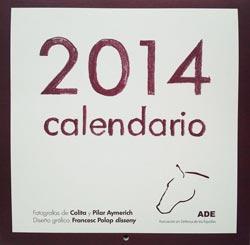 Calendario 2014 ADE