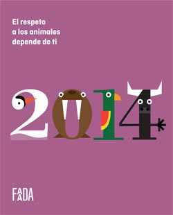 Calendario 2014 FAADA