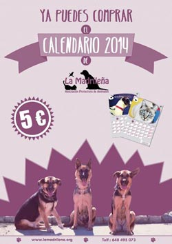 Calendario 2014 La Madrileña
